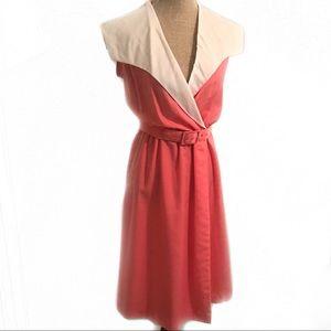 Vintage pink cotton dress